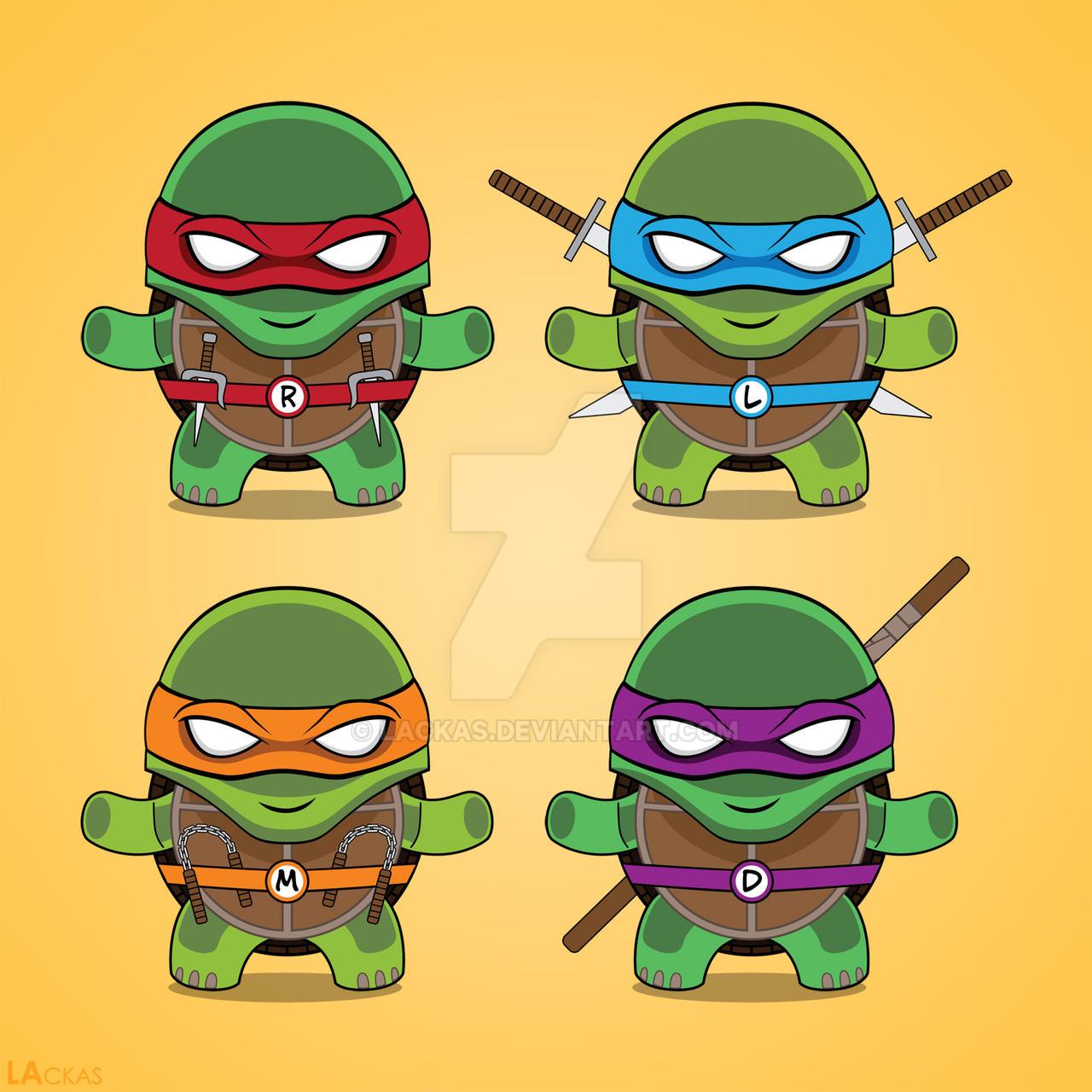 Teenage Mutant Ninja Turtles T Shirt Design By Lackas On
