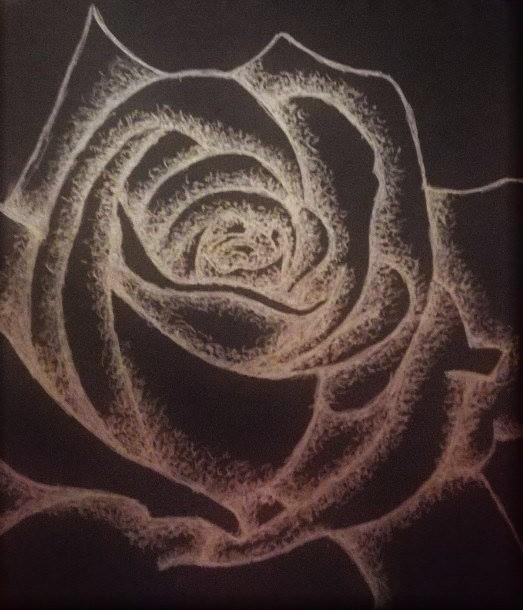 Drawing #140 Golden Rose by AidanJA