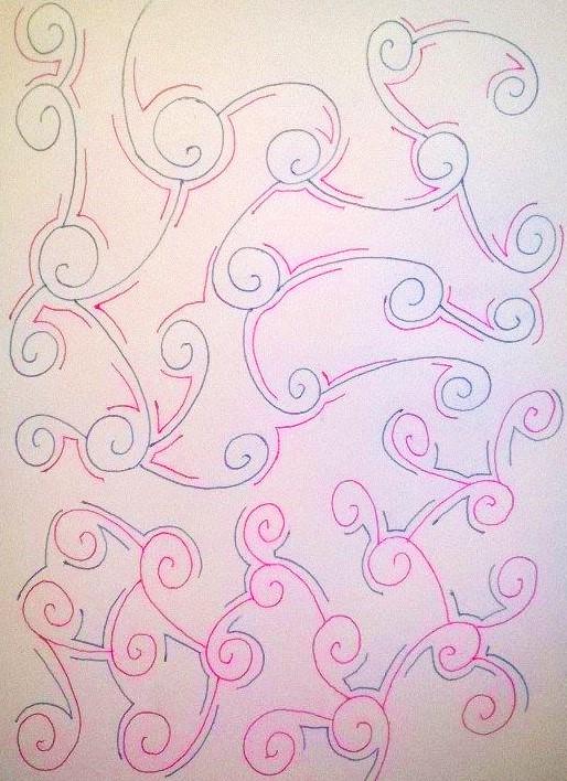 Drawing #141 Candy Pattern by AidanJA