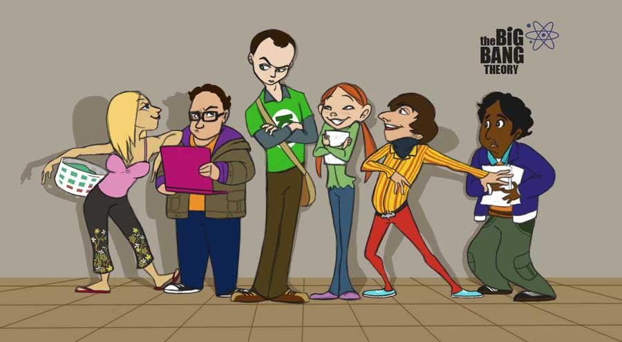 The Big Bang Theory fanart by foolspot