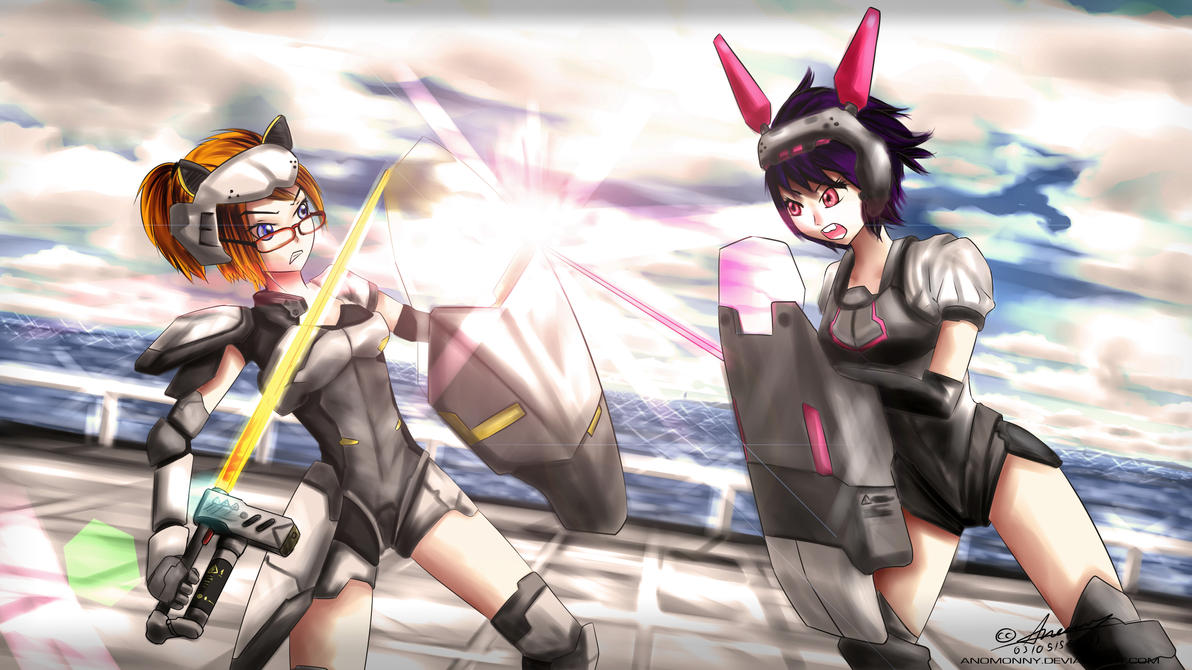 Anomonny's Collecton - เทกระจาดรอบปีครับ XD [หน้า9] - Page 7 Sexy_war___rabbit_strike_cat_by_anomonny-d4yezok