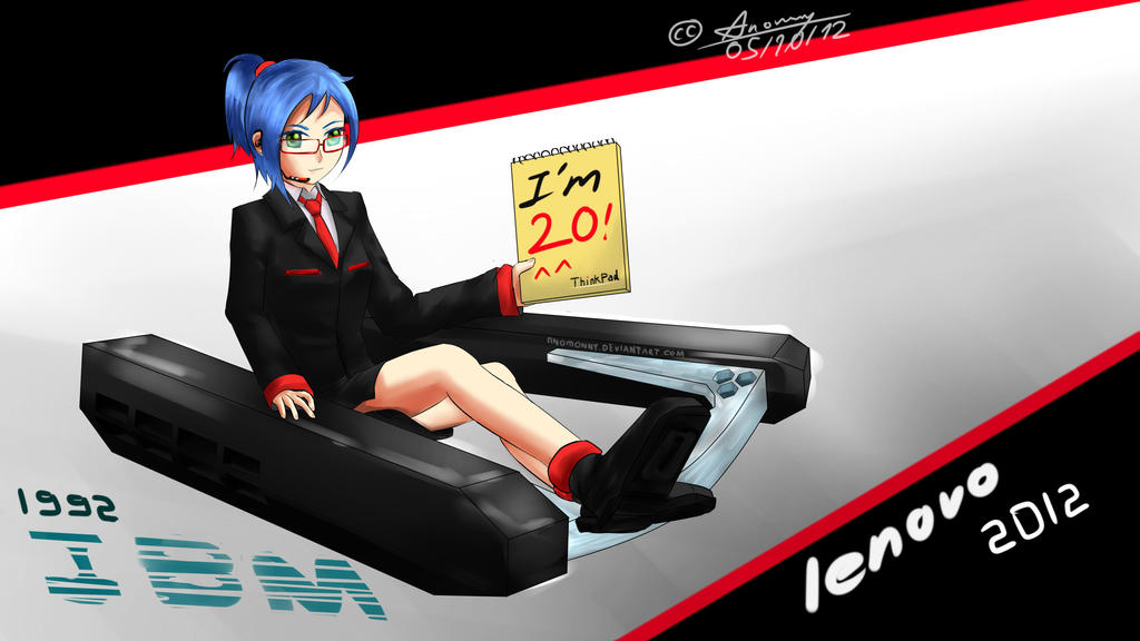 Thinkpad-Tan - I'm 20 by Anomonny
