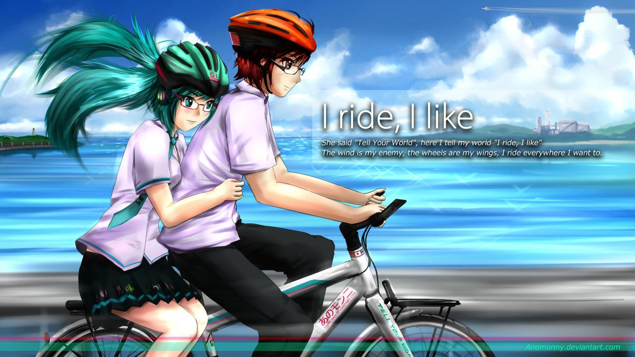 I ride I like - With Hatsune Miku by Anomonny