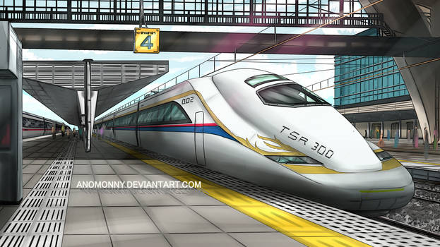 Thai Speed Rail 01 by Anomonny