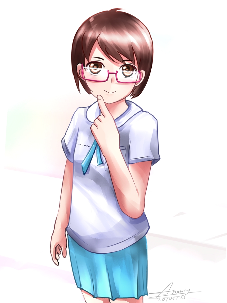 Thai Elementary Student by Anomonny