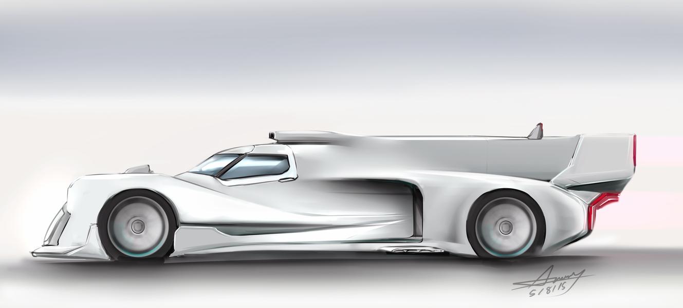 Le Mans Prototype Concept by Anomonny
