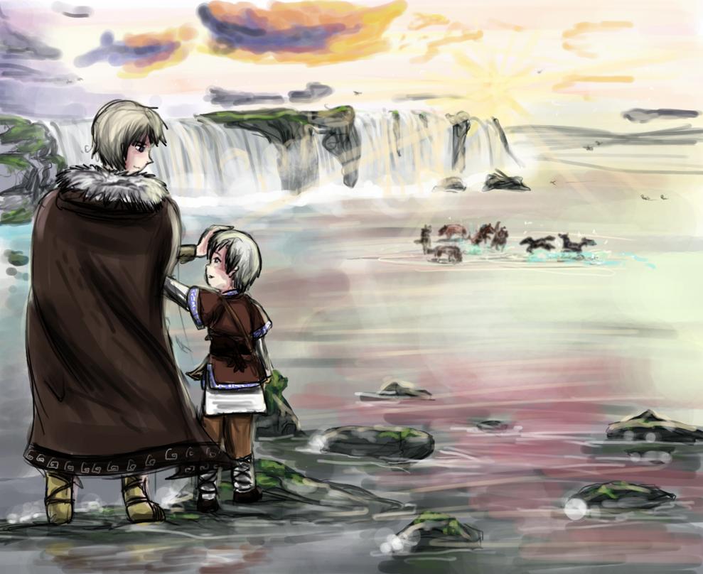 Island by Shizuri-chan