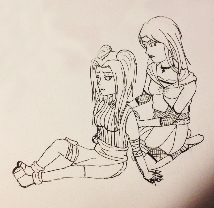 [Sketch] Baka! by Liluscious