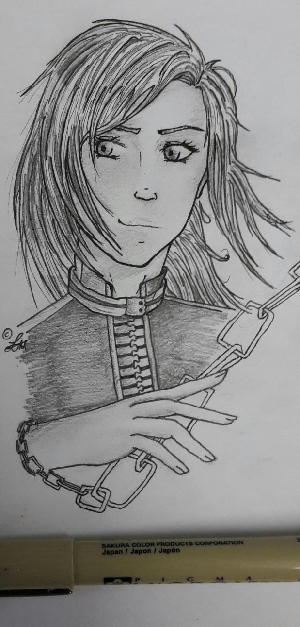 [DGM] Livia Headshot Sketch by Liluscious