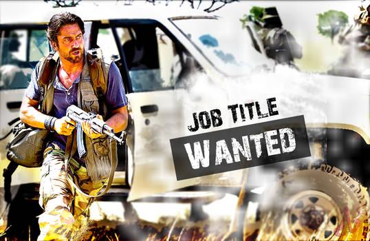WANTED[Job Title] by avinashsaini01