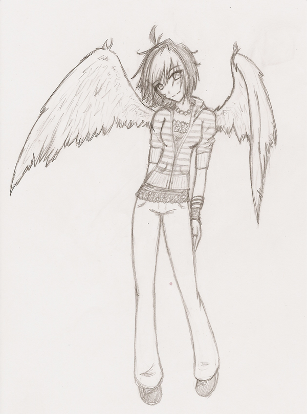 Angel. by Six-Sided-Dice