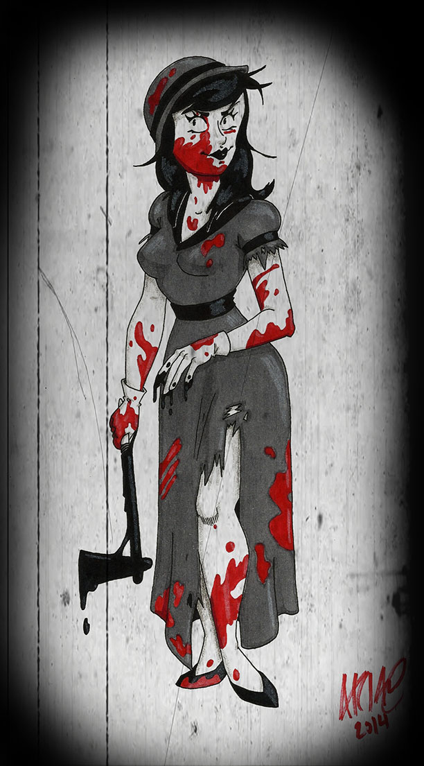 The Killer by AwesomeAria