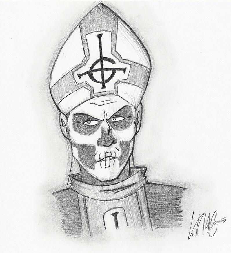 Papa Emeritus II by AwesomeAria