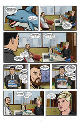 Archer Comic - issue 1, page 19