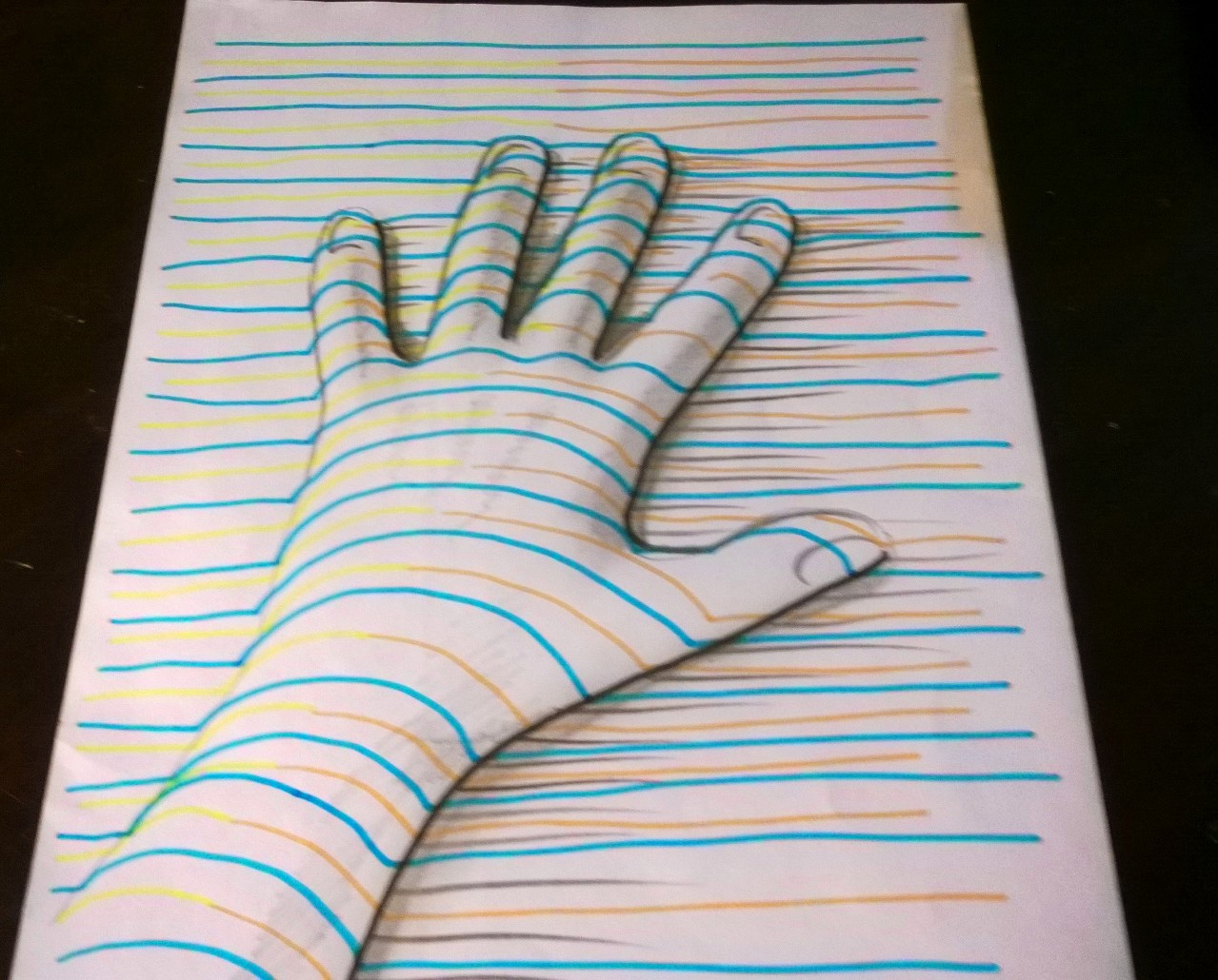 3d Hand By Lineke-Lijn On DeviantArt