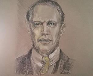 Portrait drawing Fanart! by Lineke-Lijn