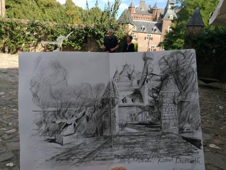 Castle Doorwerth Urban drawing