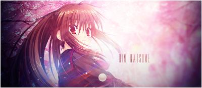 Rin Natsume Signature