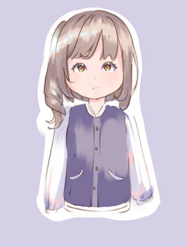 Sketch August 9 - Hyanna Natsu Color Experiment