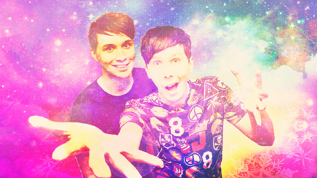 Dan And Phil Wallpaper 1 By Cashmerella