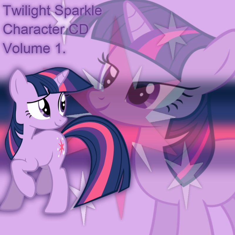 Twilight Sparkle Album Cover 1 by YuiRainbowStar
