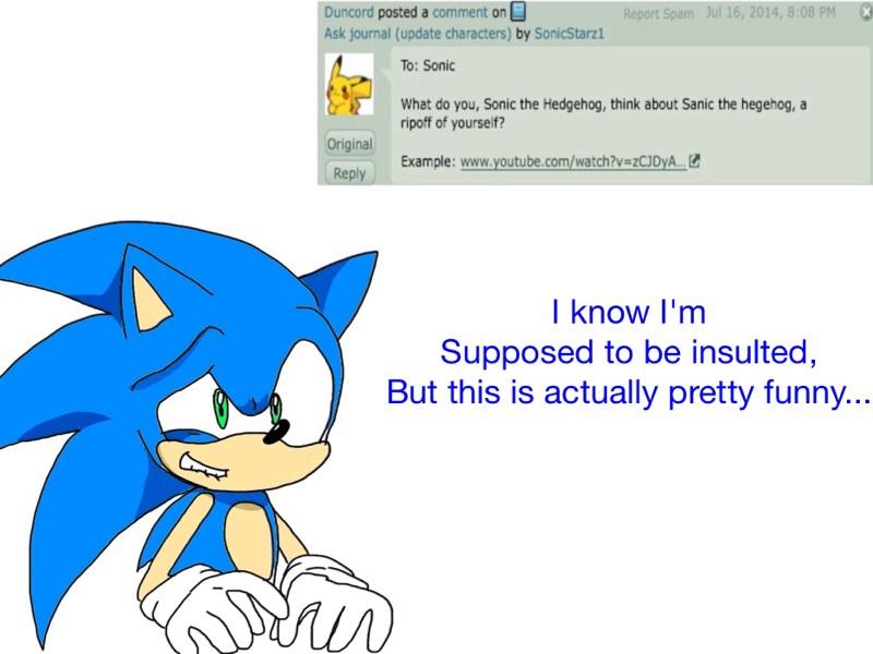 Sonic the hegehog adult art