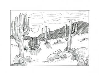 AZ Desert Landscape LA by silverwolf71190