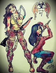 To Kill A Zombie CLR by silverwolf71190