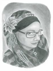 Self Portrait by silverwolf71190
