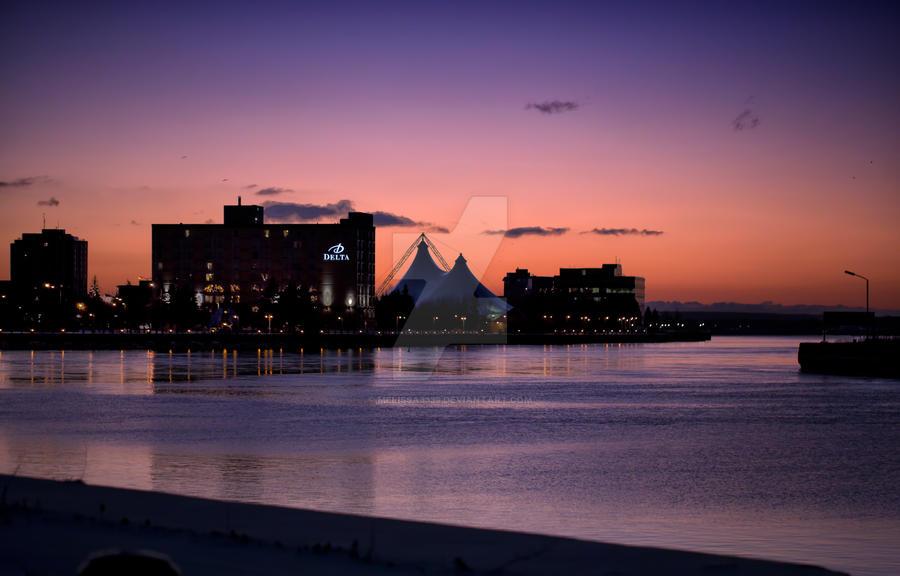 Sault Ste. Marie Sunrise by melissa3339