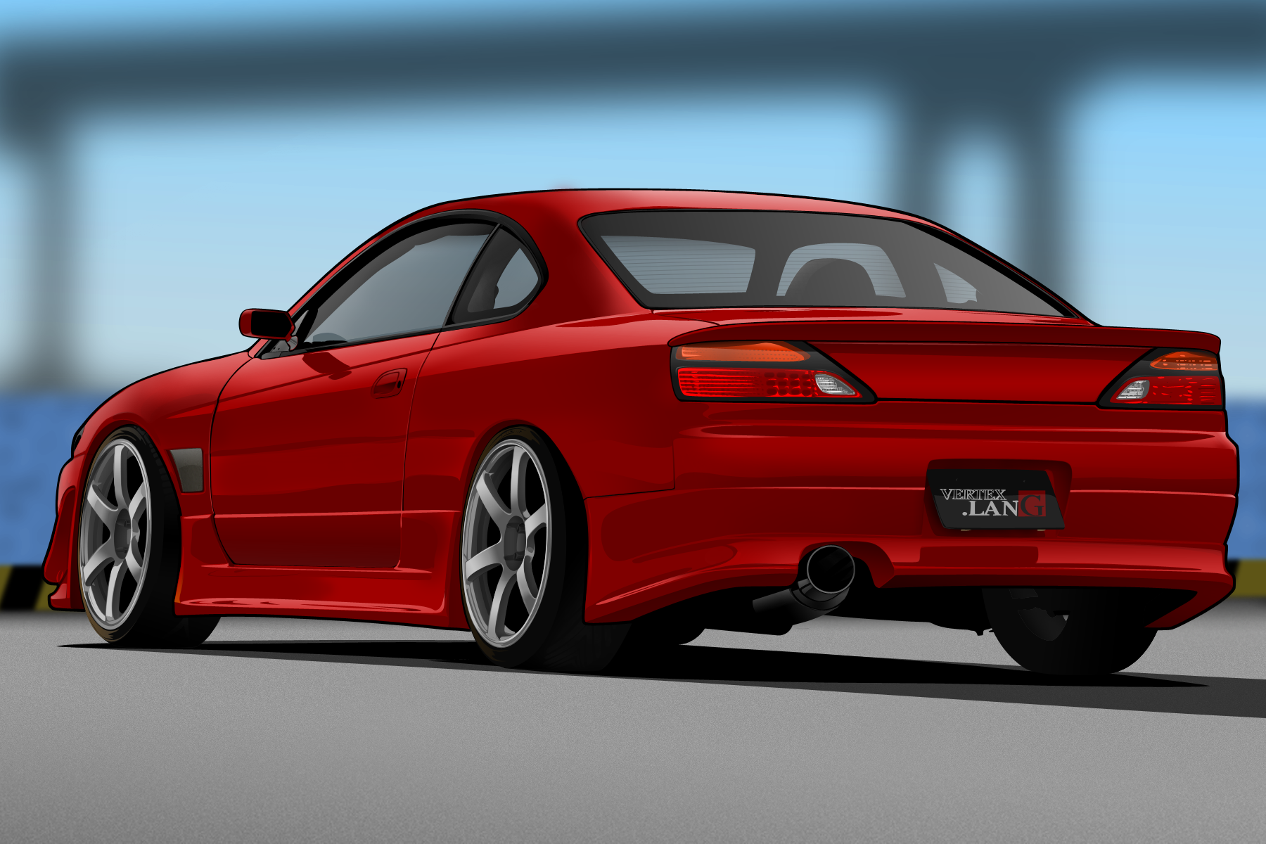 Vertex Nissan S15 Silvia by me-myself