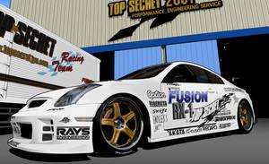 Top Secret Skyline V35 GT-R