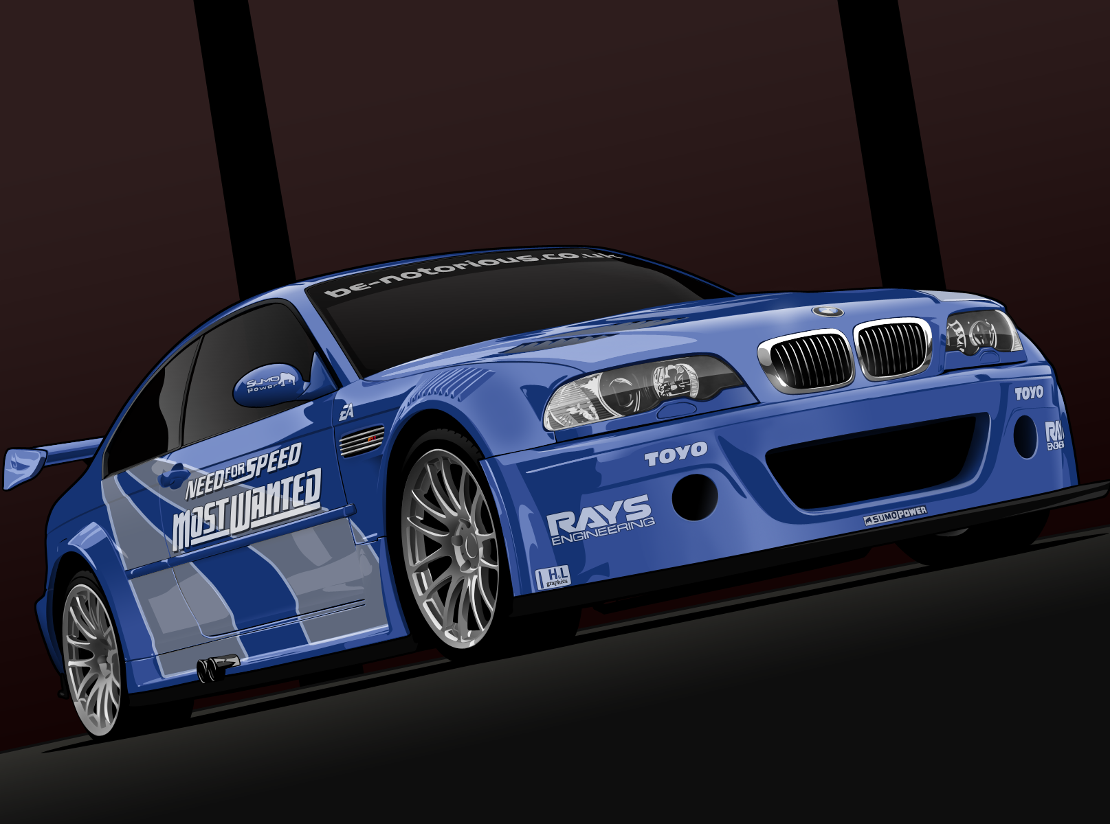Need For Speed BMW M3 GTR by me-myself on DeviantArt