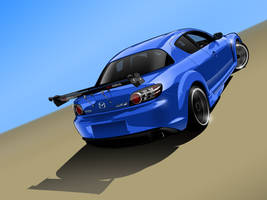 Mazda RX-8 by me-myself