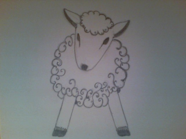 A sheep by Despina897