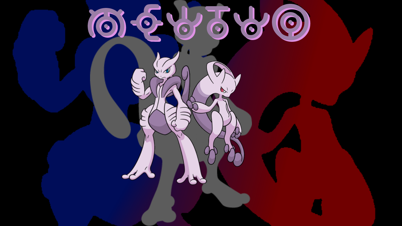 Mega Mewtwo Background by JCast639