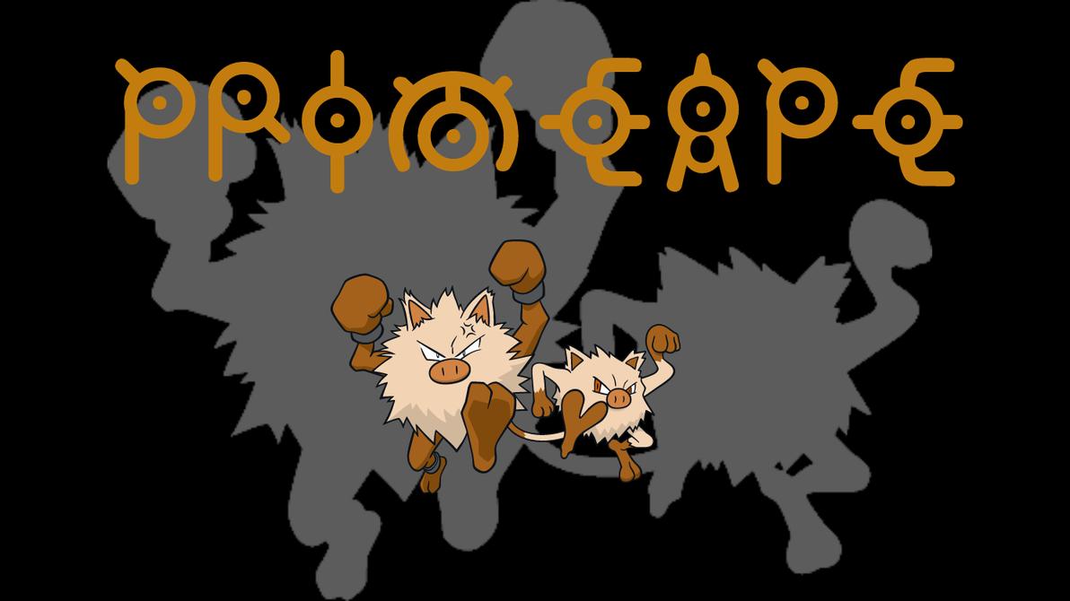 Primeape Background by JCast639