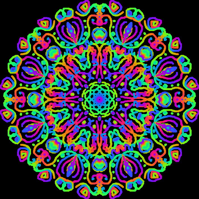 Kaleidoscope Paint 9 by xXxDragoncharmxXx on DeviantArt