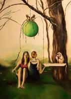 Monkey buffet by Afdemridge