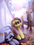 Fluttershy and Trixie