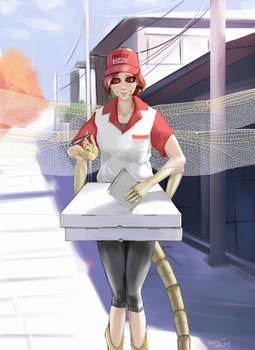 Pizza Delivery Monster Girl