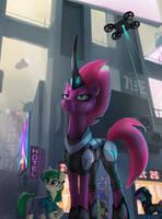 Futuristic Tempest Shadow by hardbrony