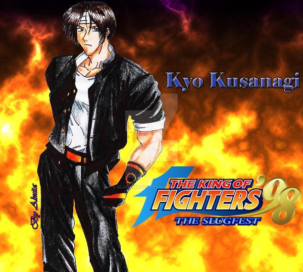 Kyo Kusanagi by 0LadyInRed0