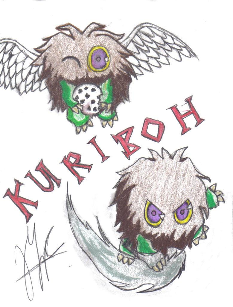 Kuriboh - Yugioh by shiohollowkyo24