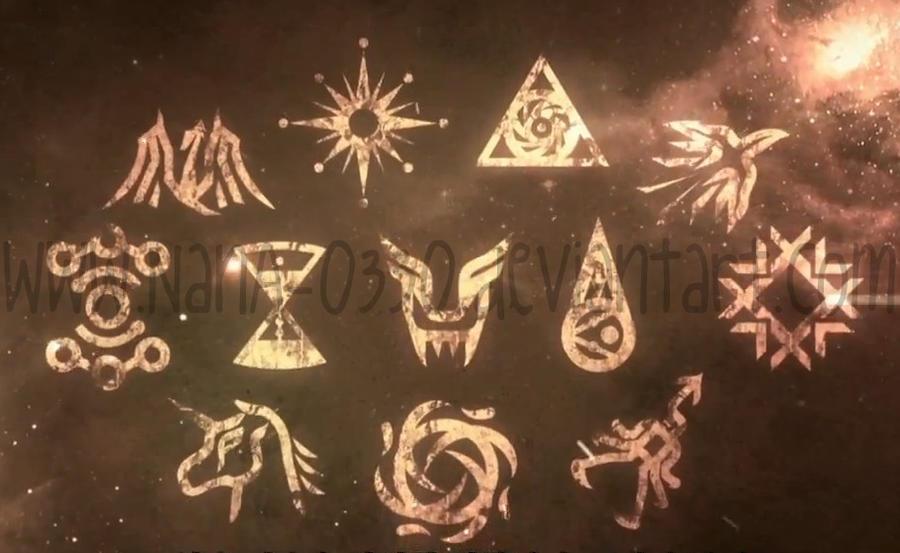 EXO-MAMA symbols by NanA-0330