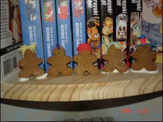 Yu Yu Hakusho Ginger Bread by TehRoseMaiden