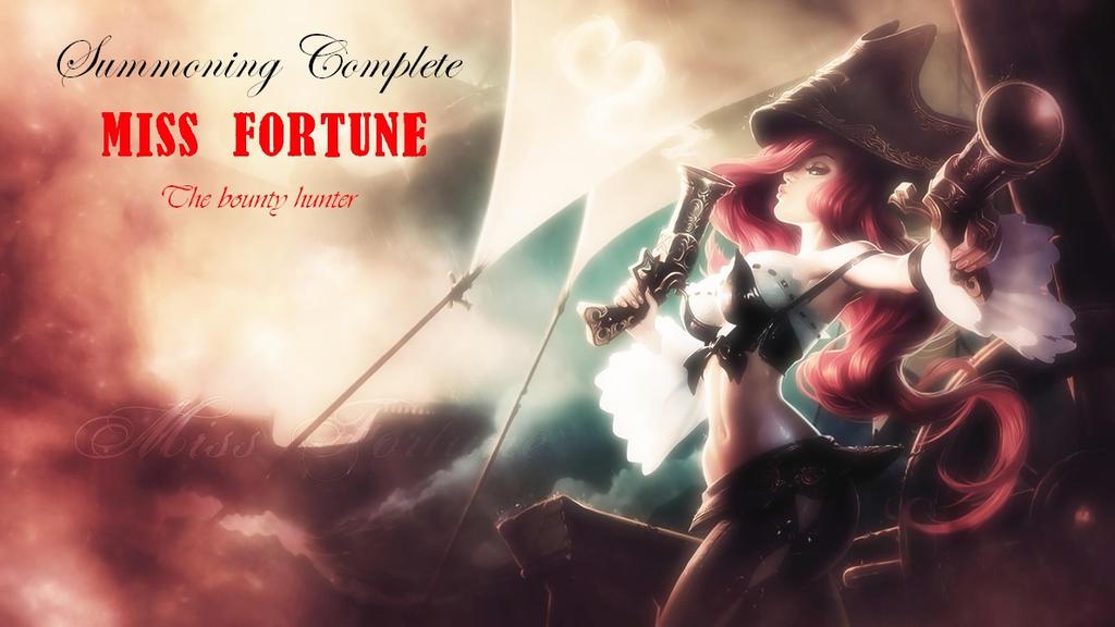 miss fortune wallpaper by hybridda on deviantart