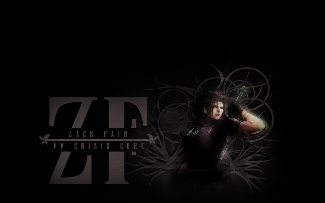 Zack fair 1280x800 wallpaper by alustria on deviantart - Zack fair crisis core wallpaper ...