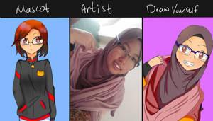 Draw yourself by sayuriiera