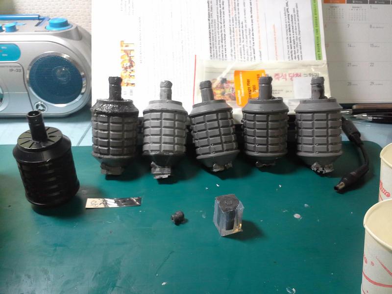 Handmade Resin Replica Type 97 Grenade by KuKuDath